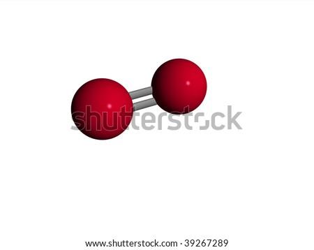 o2 structure  Molecule - oxygen - O2