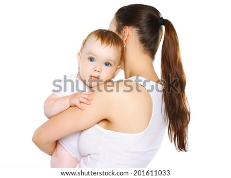 Mom and baby - stock photo