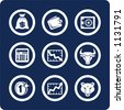 """Money and Finance (p.1). To see all icons, search by keywords: """"agb-vector"""" or """"agb-raster"""" - stock photo"""