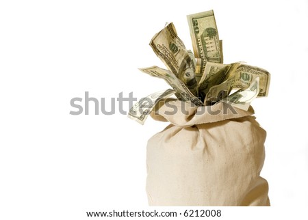 Money Bag - stock photo