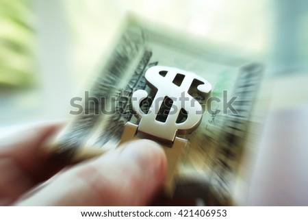 Money Close Up Zoom Burst Stock Photo High Quality  - stock photo