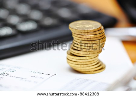 money concept - stock photo