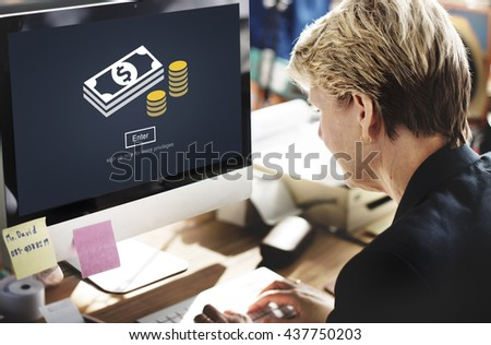 Money Currency Economy Financial Banking Concept - stock photo