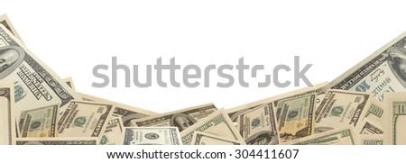 Money dollars - stock photo