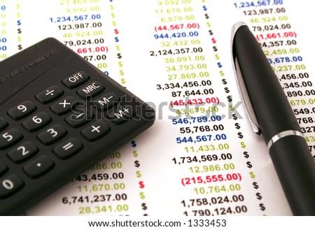 money finance - stock photo