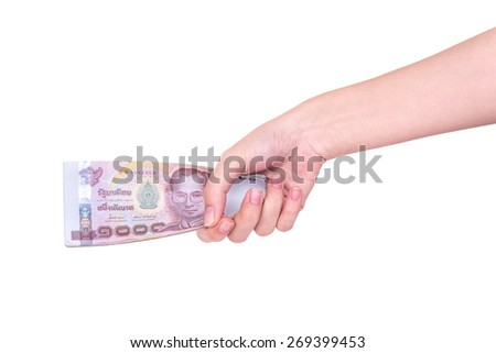 money, hand, tax, giving, rate, business, bath, sign, finger, wealth, bank, abundance, number, shopping, currency, making, isolated, human, success, commercial, finance, sale, investment, banking - stock photo