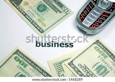 money in business - stock photo
