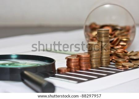 money index - stock photo