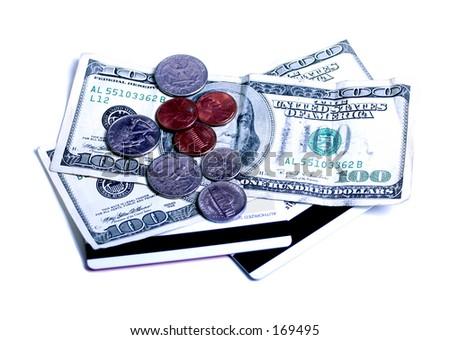 money, money, money - stock photo