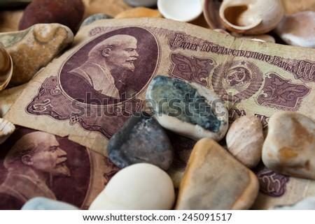 Money old. - stock photo