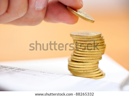 money saving - stock photo