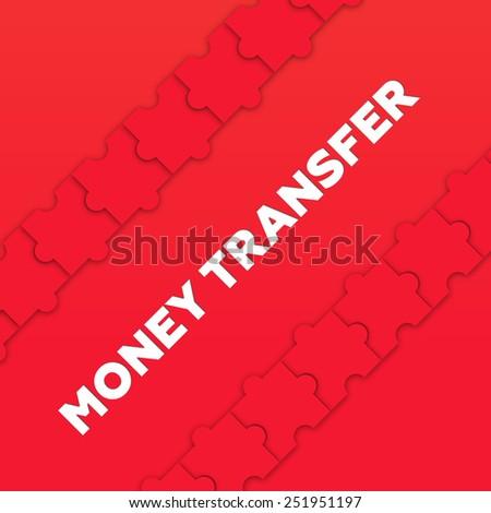 MONEY TRANSFER - stock photo