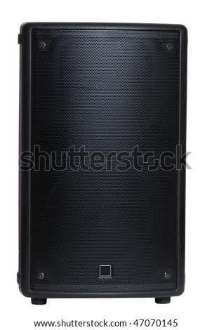 monitor speaker - stock photo