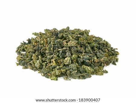 Monkey Picked Oolong green tea - stock photo
