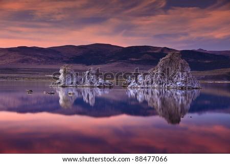 Mono Lake - stock photo