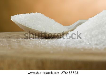 monosodium glutamate - stock photo