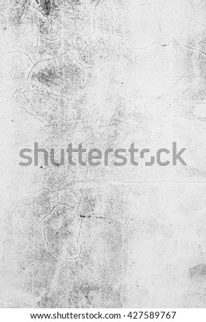 Monotone Vintage, grungy white background of natural cement or stone old texture as a retro pattern layout. It is a concept, conceptual metaphor wall banner, grunge, material, aged, rust construction - stock photo