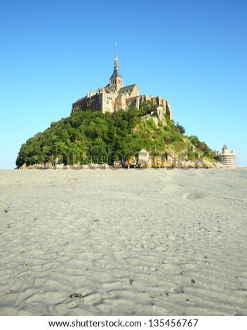Mont Saint Michel, France - stock photo