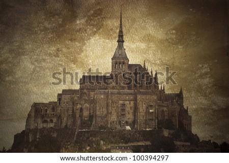 Mont St. Michel - stock photo