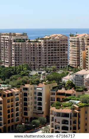 Monte Carlo - stock photo