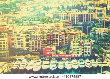 Monte Carlo bay - stock photo