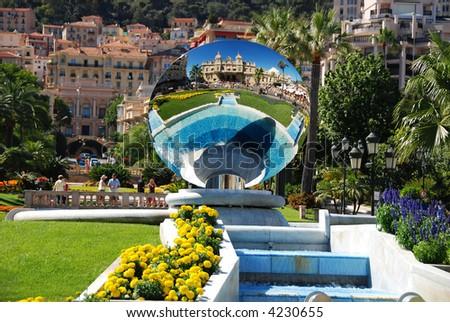 Monte Carlo Grand Casino - stock photo
