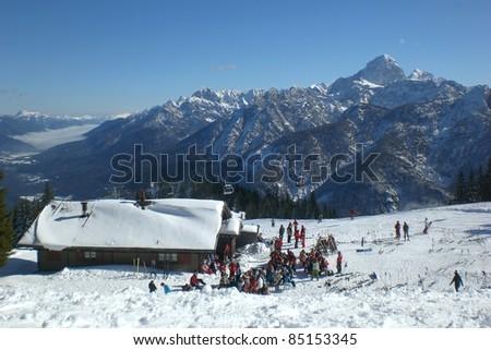 Monte Florianca - stock photo