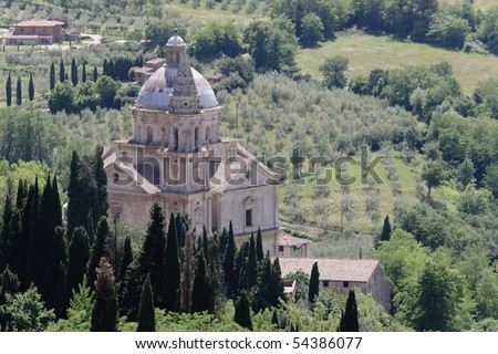 Montepulciano - Tuscany - stock photo