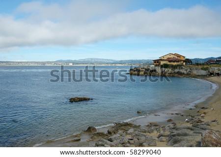 Monterey Bay in California - stock photo