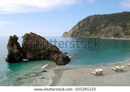 "Monterosso al Mare, one of the Ligurian ""Five Lands"" - Italy - stock photo"