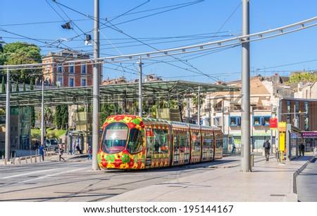 Montpellier Tram Line 16:montpellier Tram System