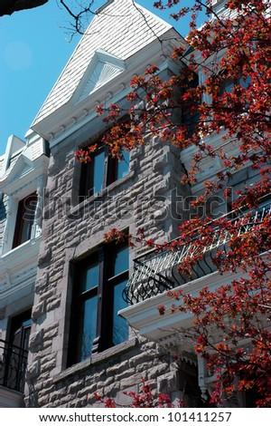 Montreal Architecture - stock photo