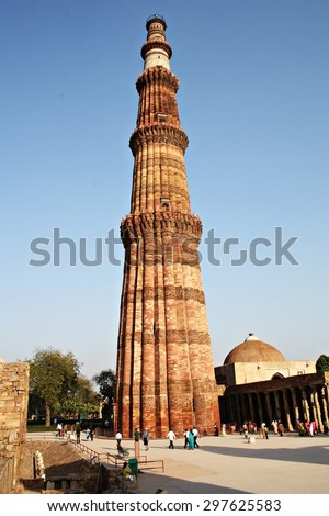 MONUMENT IN DELHI - stock photo