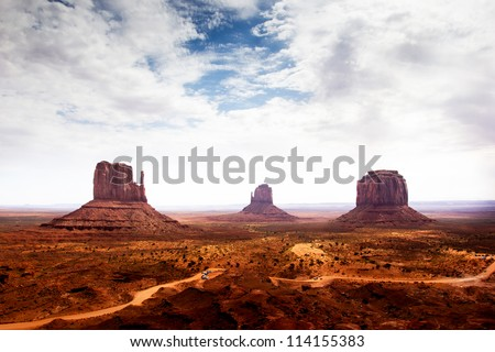 Monument Valley, USA - stock photo