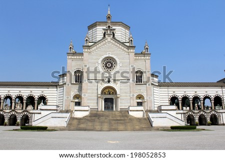 Monumental Cemetery, Milan, Italy - stock photo