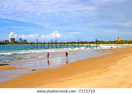 Mooloolaba, Sunshine Coast, Queensland, Australia - stock photo