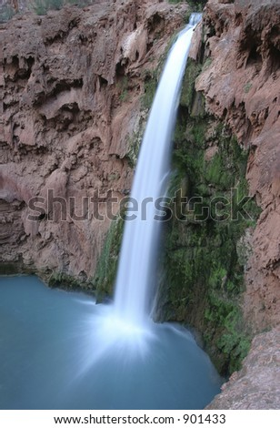 Mooney Falls, Arizona - stock photo