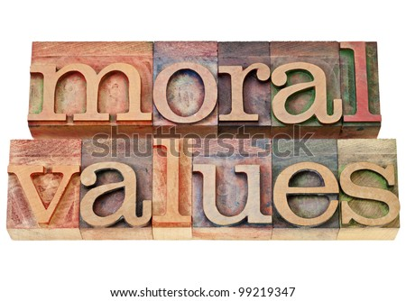 "morals and values of the middle ""values"" brings with it the assumptions that all moral ideas are  the low crime  rate persisted until the mid 1920s, when it started to rise and."