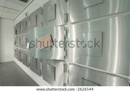 Morgue - stock photo