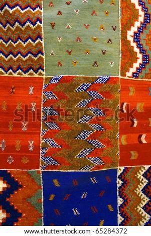 Moroccan background - stock photo