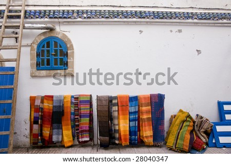 Morocco colors - stock photo