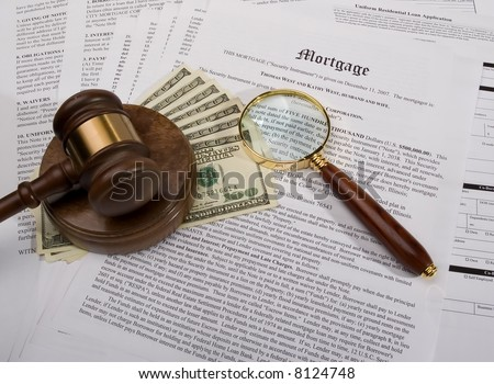 Mortgage Investigation - stock photo