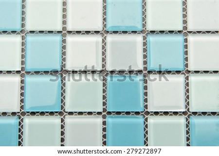 mosaic texture - stock photo