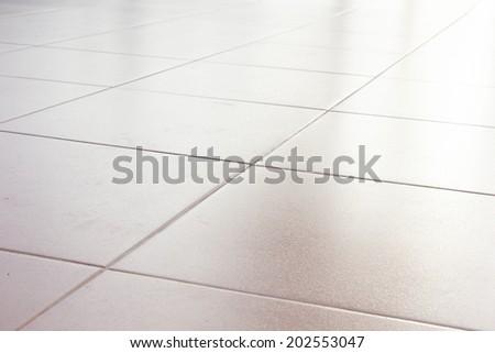 mosaic tile wall background - stock photo