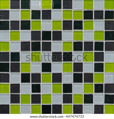 mosaic tiles,pattern seamless for decoration mosaic tiles,patter - stock photo