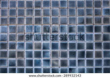 Mosaic tiles texture background - stock photo