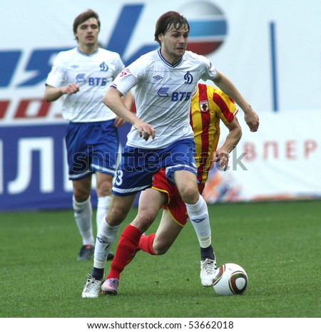 Vladimir granat in a game of the 11th round of russian football
