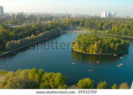 Moscow Park Izmailovo - stock photo