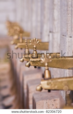 Mosque fountain - stock photo