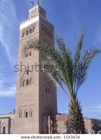 Mosque Marrakesh - stock photo